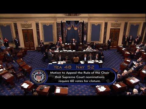 Republicans change Senate rules to confirm Trump court pick