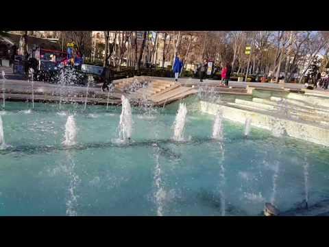 Fountain in Genclik Park, Ankara, Turkey genclık parkı  Çeşme