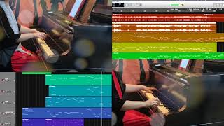【One Summer's Day】Super Relax Piano Duet_Midi_Logic Pro X_ Cover