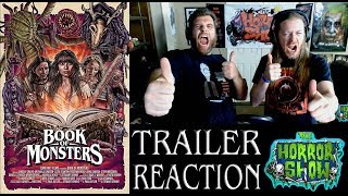 """""""Book of Monsters"""" 2018 Creature Movie Trailer Reaction - The Horror Show"""