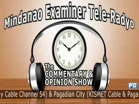 Mindanao Examiner Tele-Radyo Nov. 28, 2012