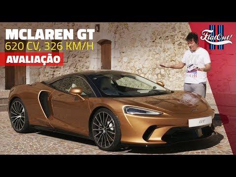 [EXCLUSIVO] ACELERAMOS O MCLAREN GT, DE 620 CV! O Gran Turismo de Woking
