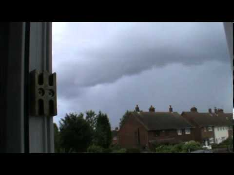 Second Thunderstorm Over Walsall,West Midlands,29th July 2013
