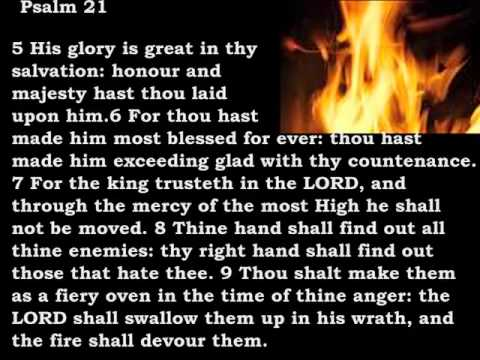 Bible Reading Psalm 21