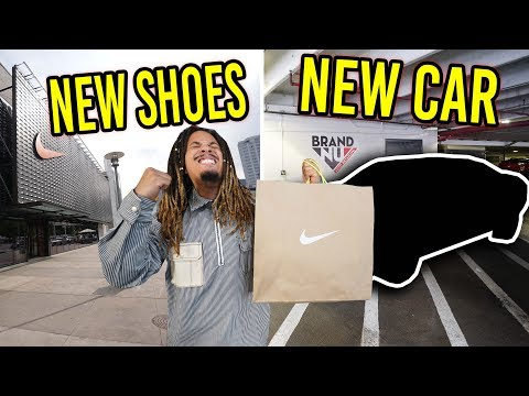 THESE SOLD OUT !!! COPPING SOLD OUT SNEAKERS AND A NEW CAR !!! MALL VLOG thumbnail
