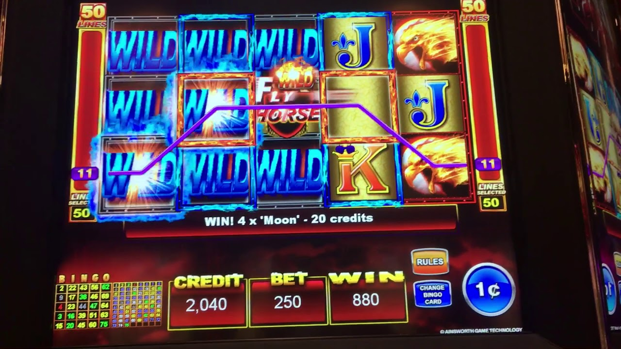 Flying Horses Slot Machine
