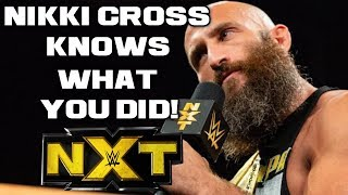 WWE NXT Oct. 10, 2018 Full Show Review & Results: NIKKI CROSS KNOWS WHAT YOU DID