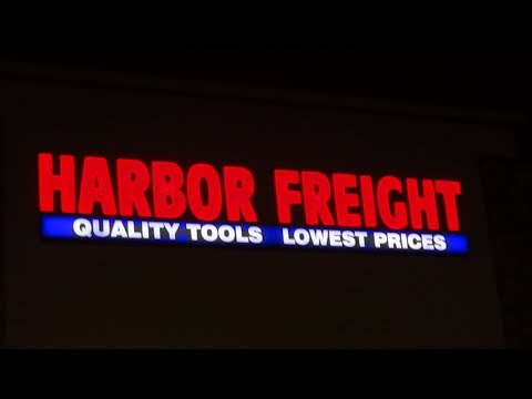 Harbor Freight Haul - A night at the big boys toy box.