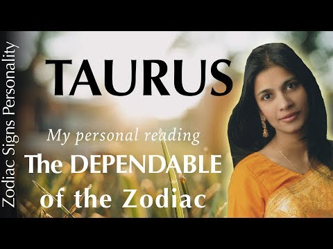 Taurus zodiac sign personality traits & psychology in astrology