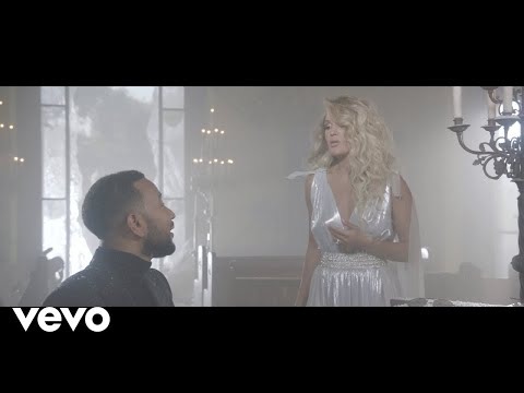 Carrie Underwood and John Legend