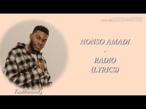 Nonso Amadi - Radio (Lyrics)