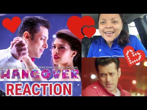 Hangover Full Song Reaction | KICK | Salman Khan, Jacqueline Fernandez | Meet Bros Anjjan