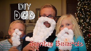 HOW TO MAKE SANTA BEARDS! | DIY Dad: epoddle