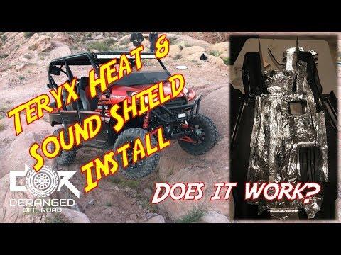 Heat Shielding Install - Teryx 4 - Does it work?