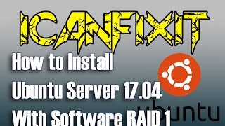 How to install Ubuntu Server 17.04 with Software RAID 1