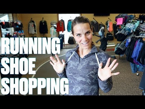FIRST TIME SHOE SHOPPING AT A RUNNING STORE   HOW TO PICK THE RIGHT PAIR OF RUNNING SHOES
