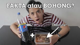 Download Video PEPSI + DAGING BABI = KELUAR BELATUNG??? [EXPERIMENT] MP3 3GP MP4