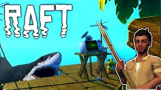 Raft #20 | Antenne & Empfänger | Gameplay German Deutsch thumbnail