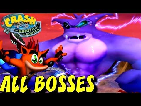 Crash Bandicoot 4 The Wrath of Cortex - All Boss Fights (No Damage)