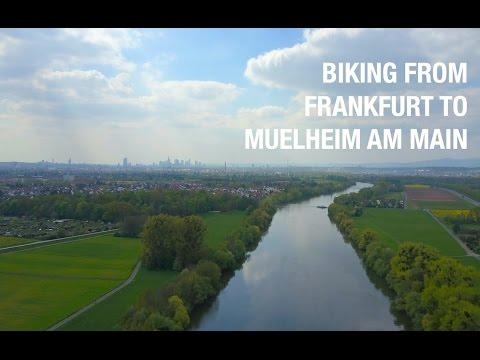 The Main River, Frankfurt Germany | DJI Mavic in 4K