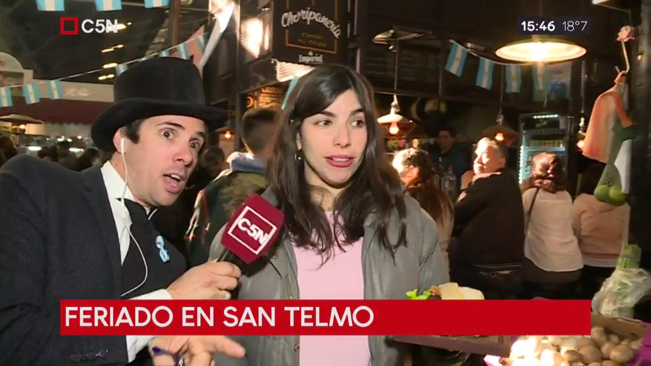 Feriado en San Telmo con Roberto Funes
