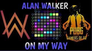 Gambar cover Alan Walker, Sabrina Carpenter & Farruko - On My Way   Unipad Cover   Yasa Launchpad x Movthmusic