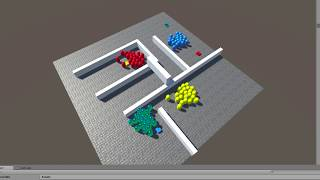 Crowd Behaviours on a Dynamic Navmesh in Unity Part 1