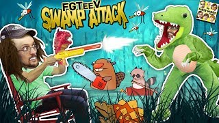 CROCODILE SWAMP!  Animals R Attakkin Meh! (FGTEEV Funny Gameplay/Skit)