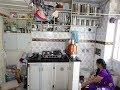 My Aunty's One Room Mumbai Apartment Where She Has Lived For 55 Years In Bombay, Maharashtra, India.