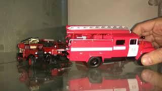 Огляд 7 пожежної моделі. У масштабі 1:43