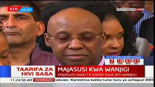 Emotional Jimmy Wanjigi narrates how police officers assaulted his wife