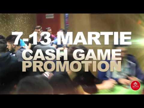 CASH GAME PROMOTION CU BONUS DE PÂNĂ LA 20.000 DE LEI LA ALL-IN POKER CLUB DIN BUCUREȘTI