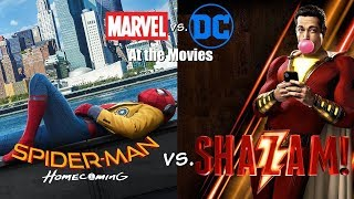Shazam! vs. Spider-Man: Homecoming - Marvel vs. DC At the Movies