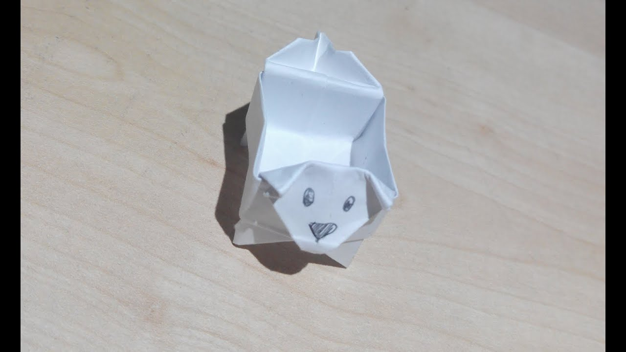 Como hacer una caja perro origami3 youtube - Como hacer una caja ...