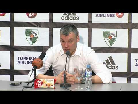 EuroLeague: Žalgiris Kaunas – FC Barselona Lassa press conference