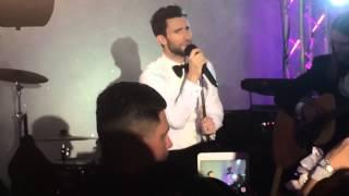 Maroon 5 Crashes The Wedding