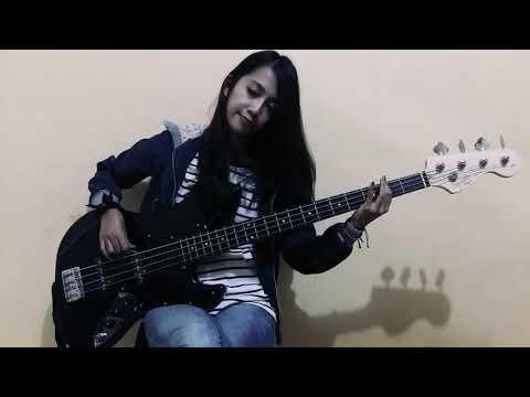 Silent Siren (サイレントサイレン) - Lucky Girl  [Bass Cover]