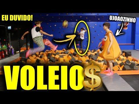 VOLEIOS & BICICLETAS NO PULA-PULA GIGANTE!!! - EU DUVIDO #15 (feat. UJoãozinho)