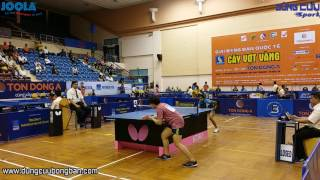 Hồ Phương Uyên ( TPHCM ) vs Reeth Rishya Tennison ( IND ) - Giải Bóng Bàn Quốc Tế Cây Vợt Vàng 2017
