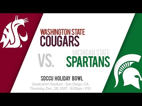 Holiday Bowl 21 Washington State Cougars vs. 18 Michigan State Spartans Simulation