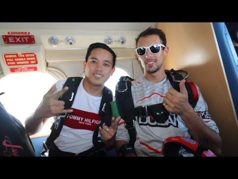 Skydive Dubai at The Palm Jumeirah On My Birthday!🤩