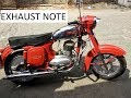 JAWA 250 Exhaust Note | Vintage Queen | 1965 model | Old But Maintained | - DelRider N