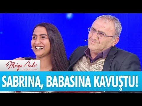 Sabrına, 27 yıl sonra babası Sefai kaya'ya kavuştu - Müge Anlı İle Tatlı Sert 9 Ocak 2018