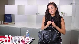 Shay Mitchell Shows Us What's in Her Bag | Allure