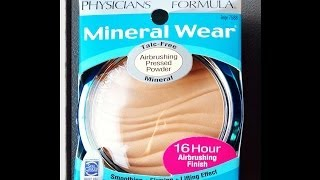 First Impression: Physicians Formula talc free Mineral face powder!