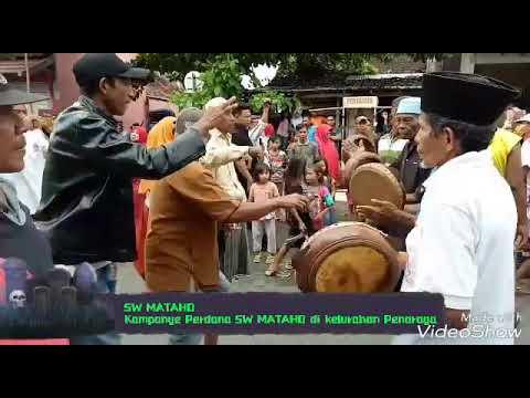 Kampanye Perdana SW MATAHO Di Kelurahan Penaraga