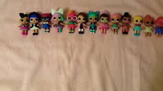 Моя колекція ляльок Л. О. Л!