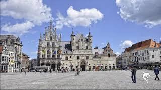 patrimoine mondial de l'Unesco pres d'Anvers en Belgique