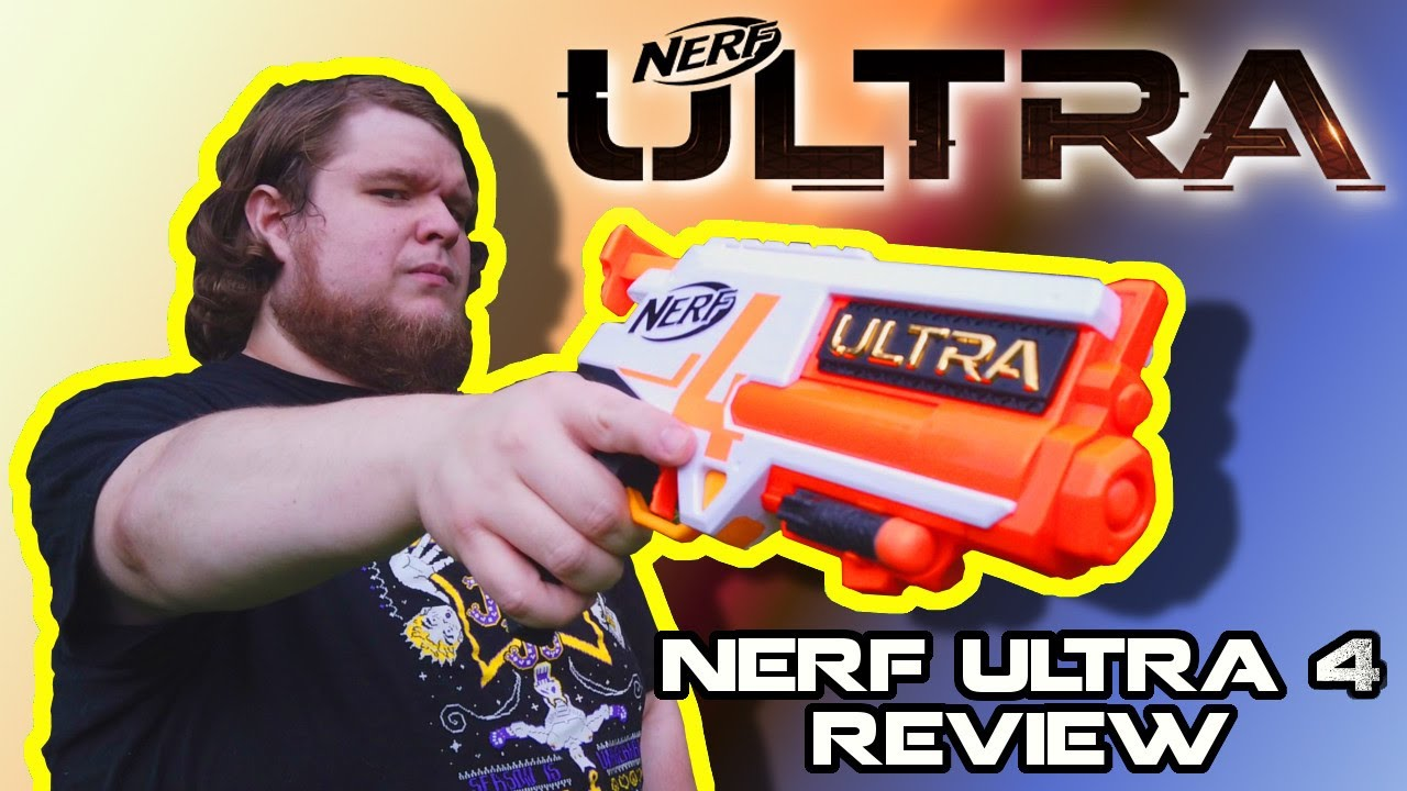 Aw snap, here we go again... NERF Ultra 4 Review!