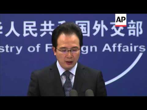 Foreign ministry comments on map Chancellor Merkel gave President Xi, MH370